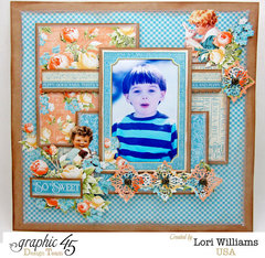 So Sweet with Precious Memories Graphic 45 by Lori Williams