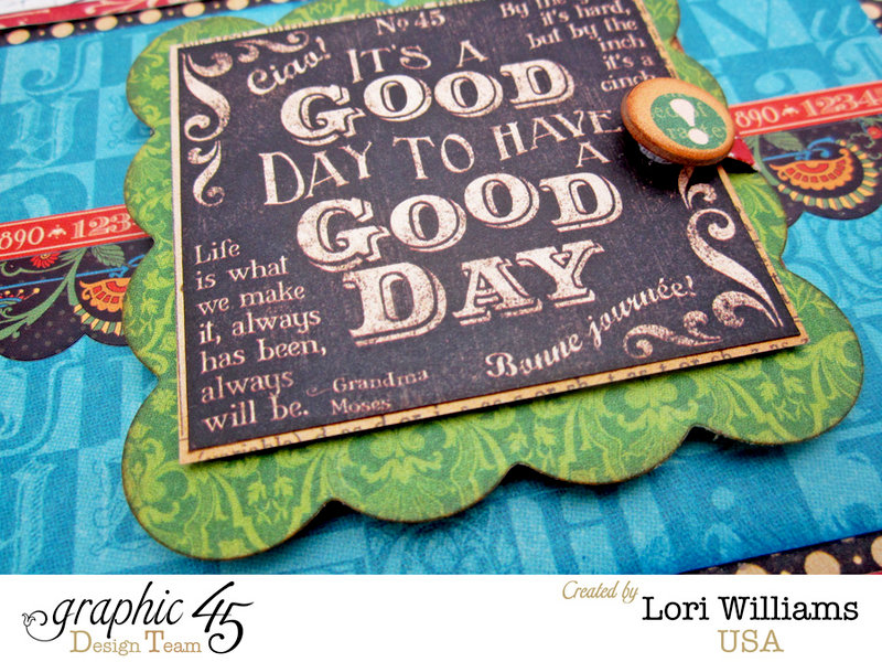 Pocket Scrapbooking with Graphic 45