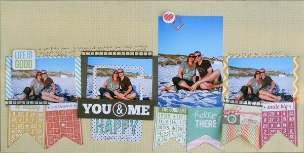You & Me- Bingo Card Banner