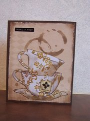 Tea cup Birthday Card