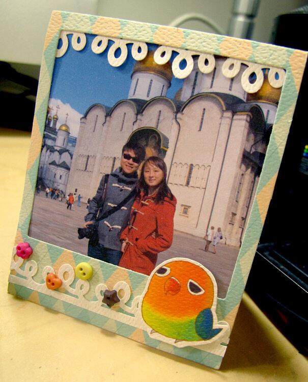 DIY photo card