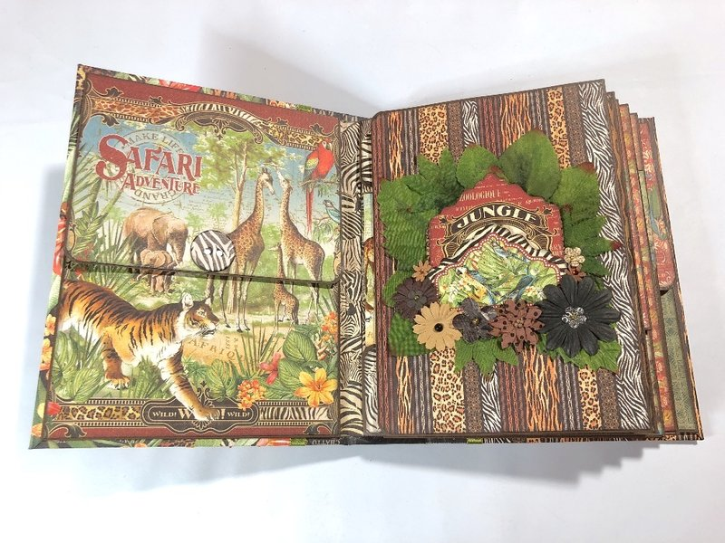 Safari Adventure Folders & Pockets Album
