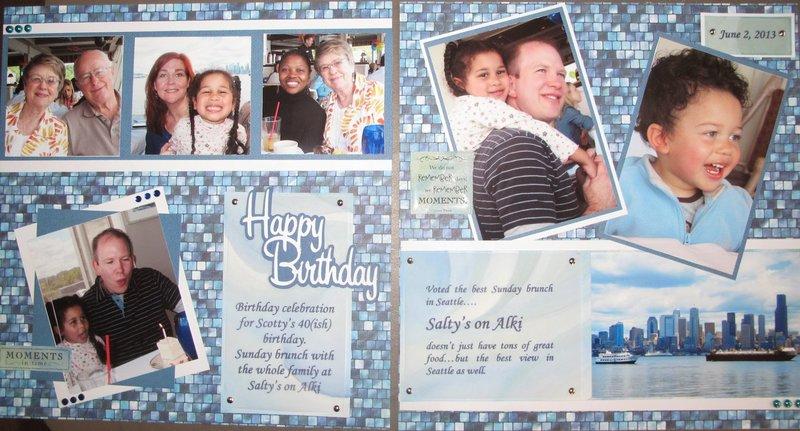 Birthday at salty's