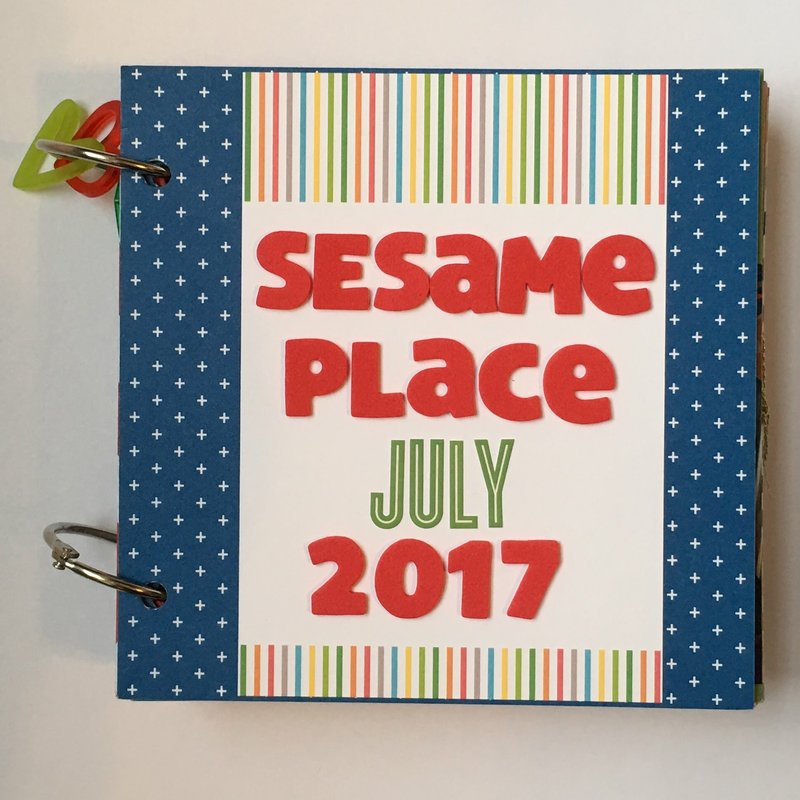 Sesame Place Mini Album Cover