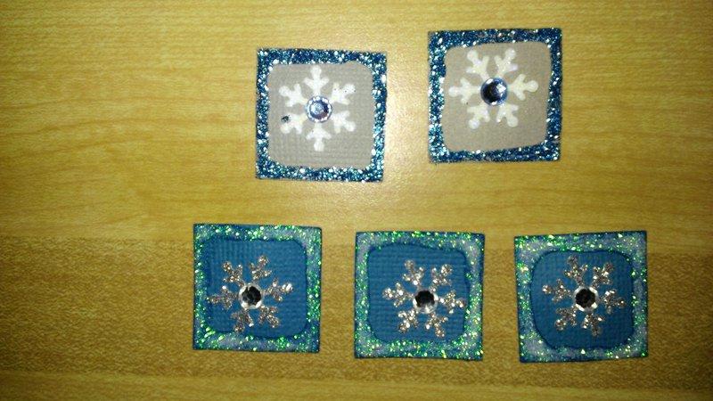 Snowflake Inchies