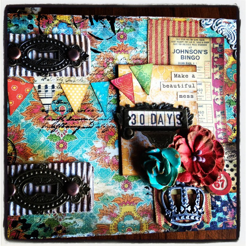 Graphic 45 Altered Art Journal