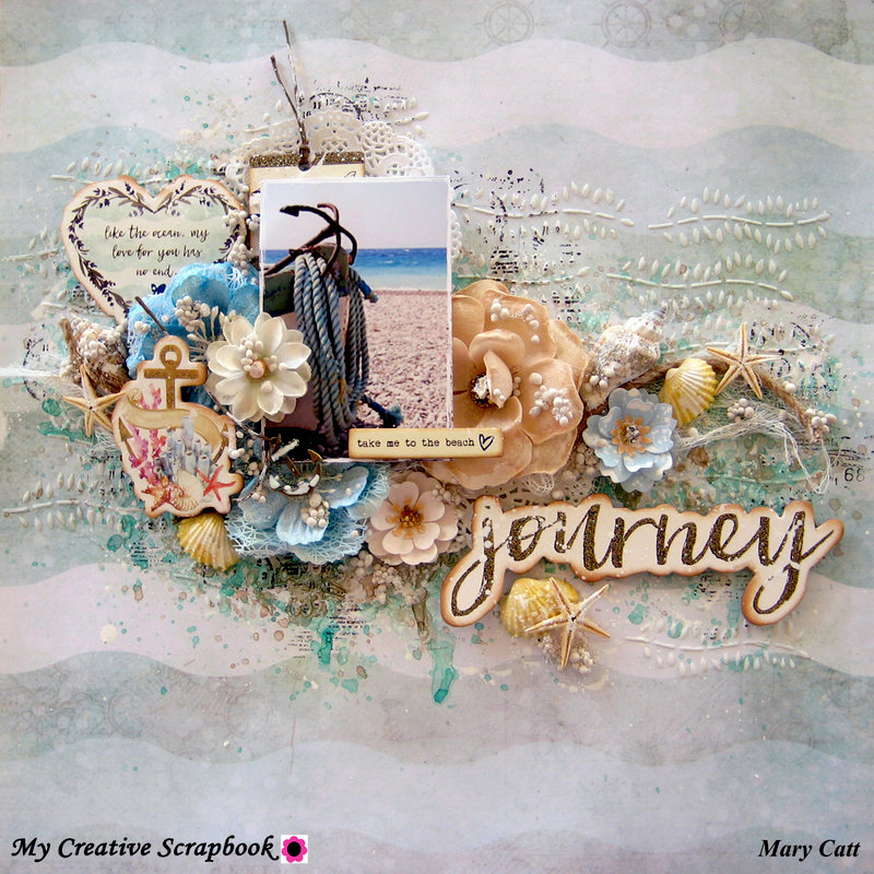 My Creative Scrapbook limited edition kit journey