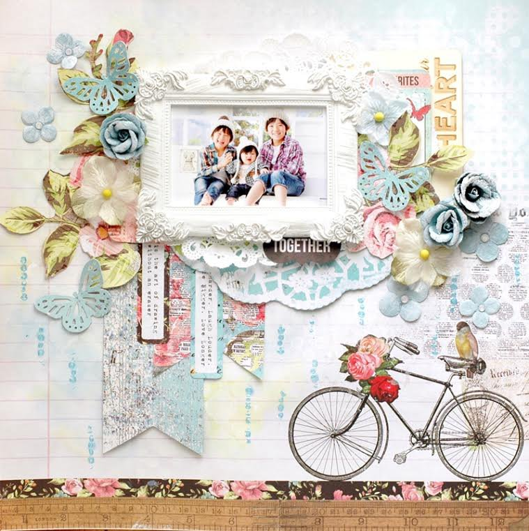 My Creative Scrapbook Limited Edition kit June