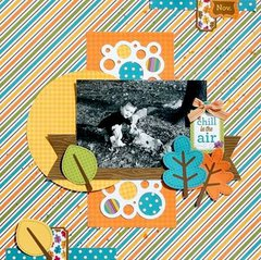 My Creative Scrapbook Oct. Creative kit lo by Kristin