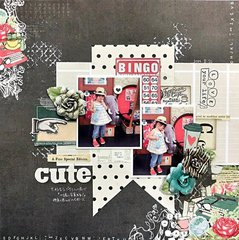 My Creative Scrapbook Oct LE kit lo cute