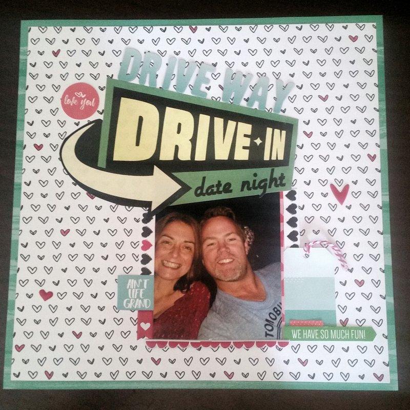 Driveway Drive In Date Night