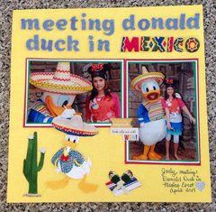 MEETING DONALD DUCK IN MEXICO
