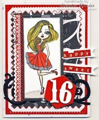 Deep Red Stamps - Seen on Pinterest and Other Social Media