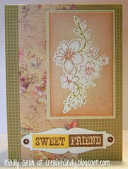 Sweet Friend By Cindy Groh