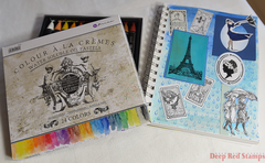 Rainy Day in Paris Journal by Deep Red Stamps