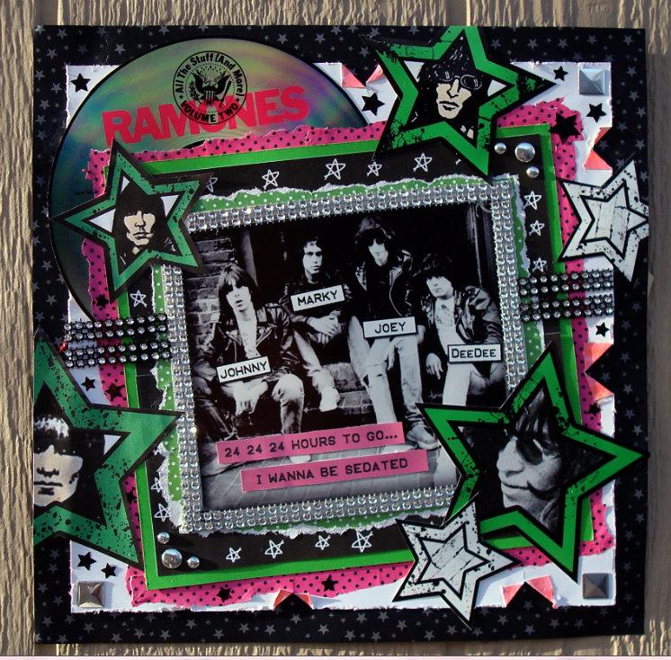 Ramones - Punk Band Layout