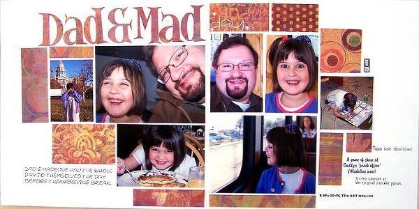Dad & Mad Day - Homemade Rub-Ons