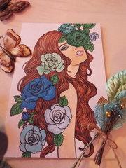 Prima on Canvas