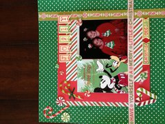 Christmas card layout 2014