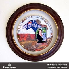 Australia Wall Hanging - Paper House Productions
