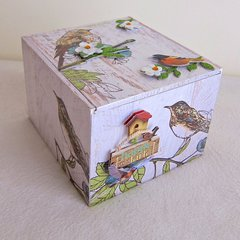 Altered Cigar Box Jewelry Box