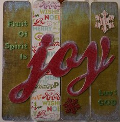 Fruit of Spirit is Joy