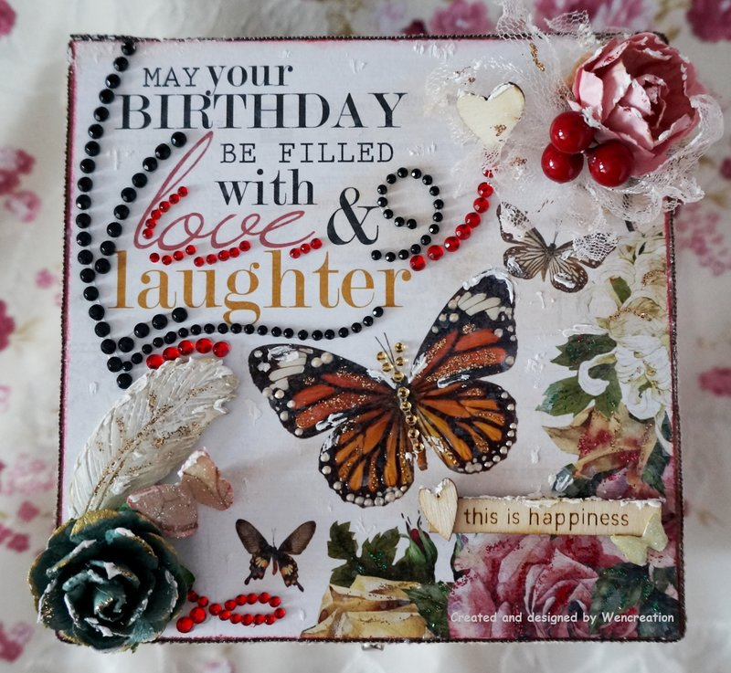 May Your Birthday Be Filled with Love & Laughter