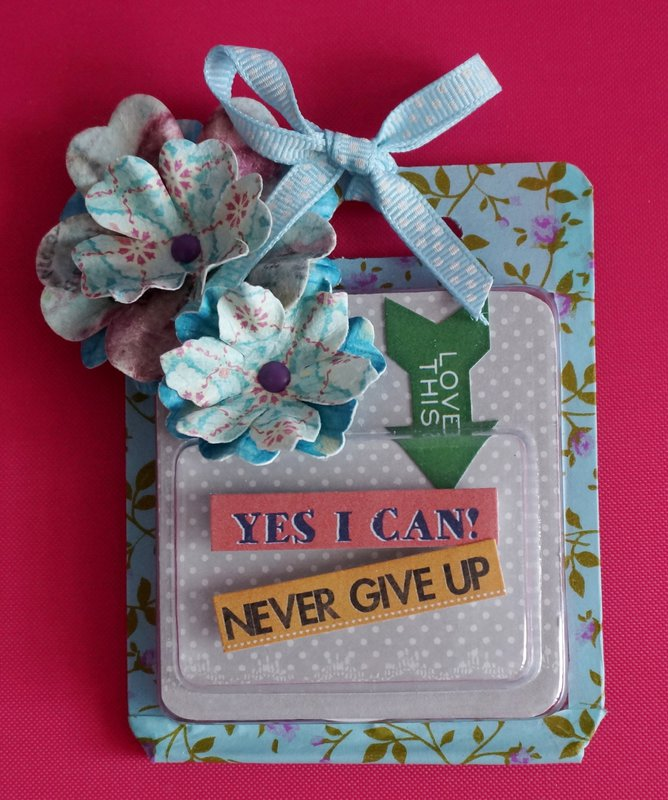 Yes I Can, Never Give Up!