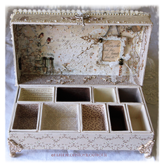 Home Decor - Altered configurations box. 1 of 5