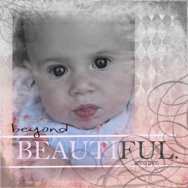 beyond beautiful- no journal challenge