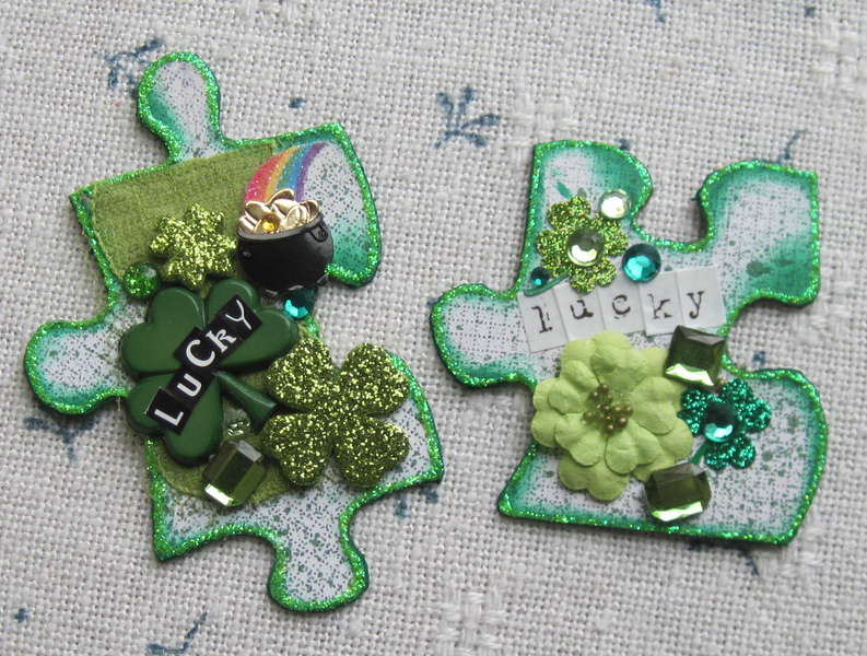 Lucky puzzle pieces