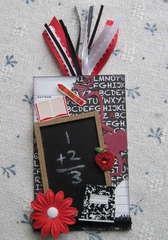 Chalkboard Library Card