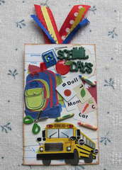 School Days Library Card