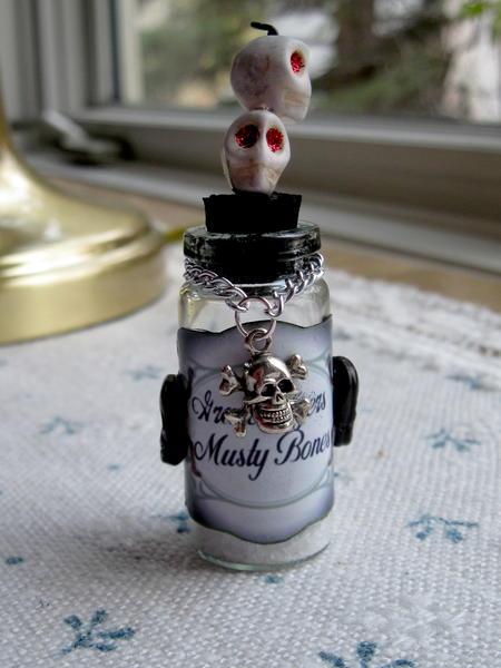 Musty Bones Apothecary Jar