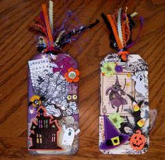 Elaborate Halloween Tags