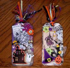 Elaborate Halloween Tags