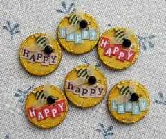 Bee Happy Inchies