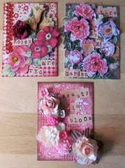 May Flowers ATCs