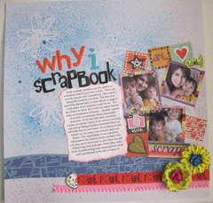 Why I Scrapbook