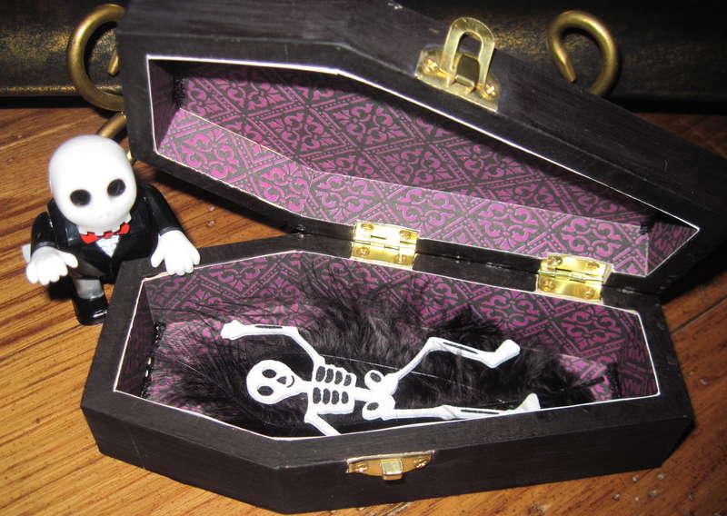 Inside of Coffin