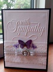 Butterfly Sympathy Card