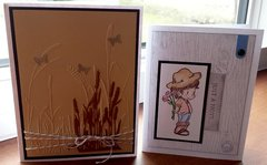 Wheat Sympathy Card and