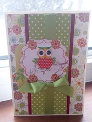 Cheerful Owl Card
