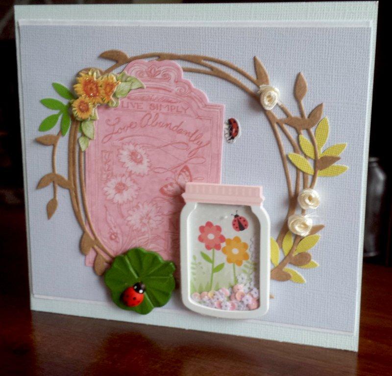 Wreath Shaker Card