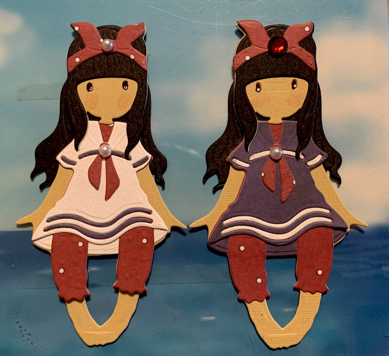 """Little Fishes"" Gorjuss Girls"