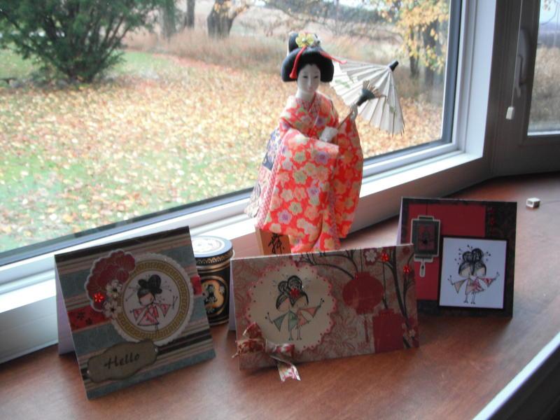 Ginger, Yoko & Ono Cards