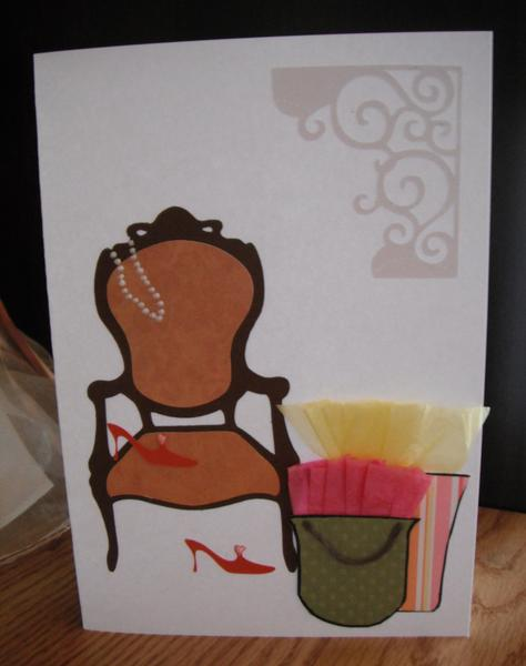 Card for a Lady