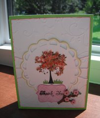 Flower Soft Thank You Card