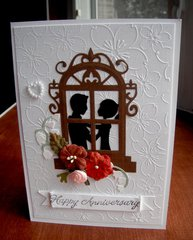 Couple In Window Card