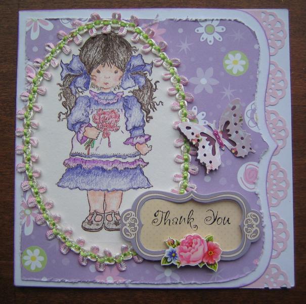 Little House on the Prairie Card